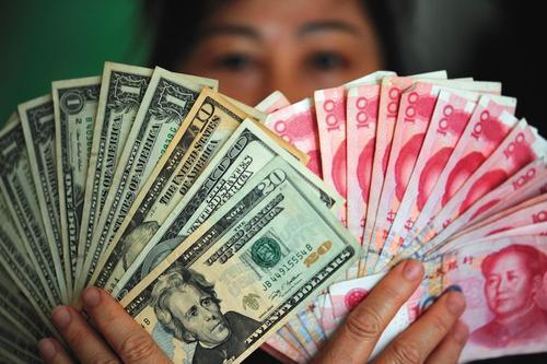 在岸人民币对美元汇率开盘升破6.55关口