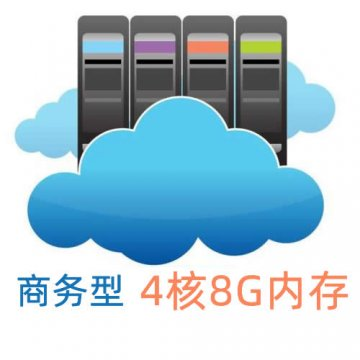 全球云主机-商务型(4核8G)